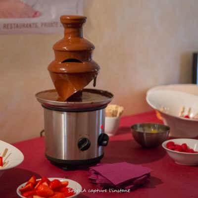 Fontaine à chocolat : pour vos cocktail d'après midi ou par pure gourmandise !